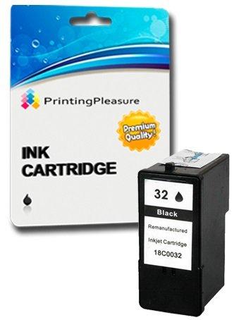 2 Compatibles Lexmark 32 & 33 Cartuchos de Tinta para Lexmark X5470