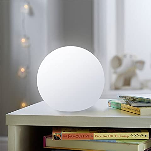 Mr.Go Wasserdicht Schwimmdock RGB-Kugel-Lampen Farbwechsel LED-Kugelleuchten 20cm/8