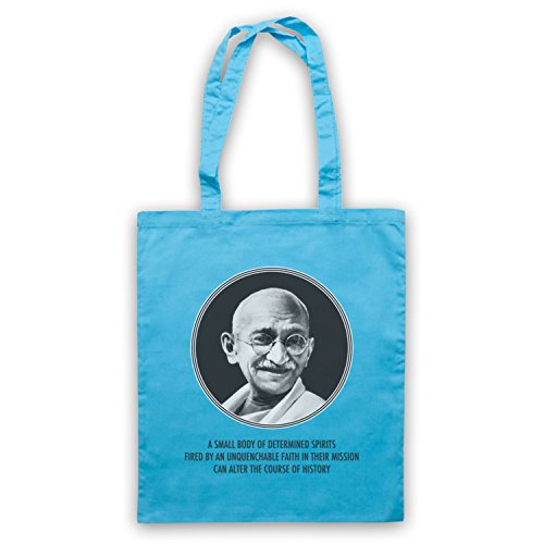 Gandhi Mahatma Umhangetaschen Hellblau