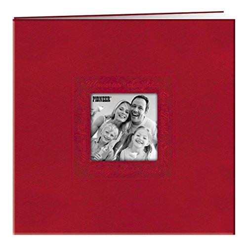 Pioneer Scrapbook W/Rahmen Script 8Zoll x 8-inchred (Pioneer 8x8 Scrapbook Album)