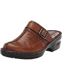 Eastland Mae Damen Beige Leder Pantoletten Schuhe Neu EU 37,5