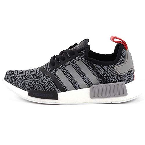 adidas Herren Schuhe / Sneaker NMD R1 schwarz 40 - 2