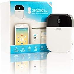 Sensibo Sky Contrôle intelligent des climatiseurs et pompes à chaleur, Wi-Fi, à partir du smartphone (iOS/Android), Compatible avec Alexa et Google Home