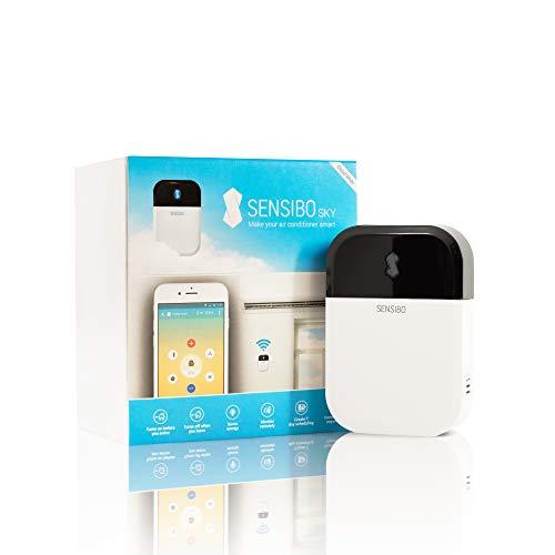 Sensibo Sky Intelligente Klimaanlagen- und Heizungssteuerung, Wi-Fi, Steuerung mit dem Smartphone (iOS/Android), Kompatibel mit Alexa & Google Home