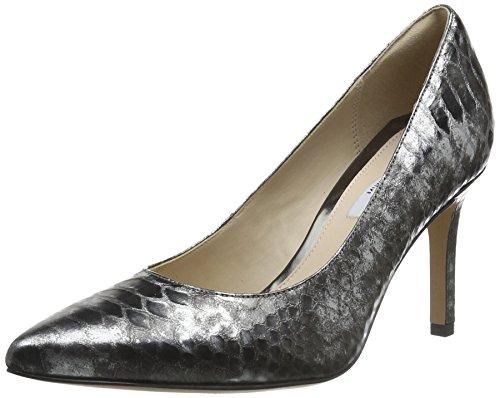 Clarks Damen Dinah Keer Pumps, Grau (Silver Metallic), 41 EU