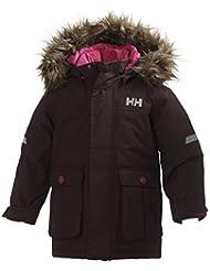 Helly Hansen K Legacy - Parka para niños, color rosa, talla 98/3