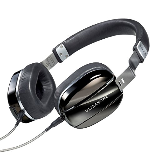 ULTRASONE Edition M Black Pearl | Dynamischer Hi-Fi Profi Kopfhörer Made in Germany | Inklusive Transportbeutel (Dj Ultrasone)