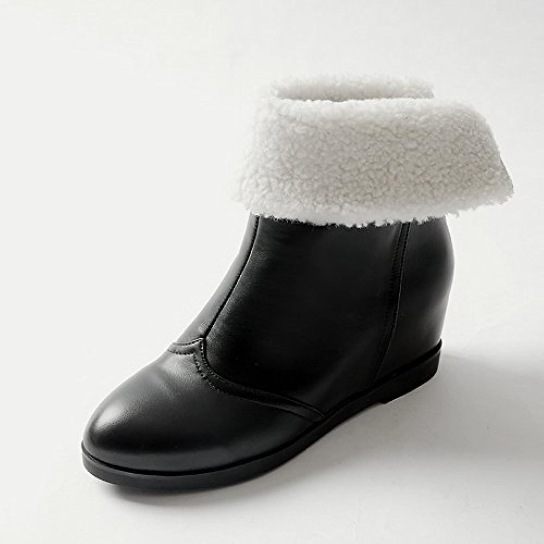 1to9 wo  bottes bottes bottes pour la neige neige solides bottes zip no talon route bottine soft toe outdoor uréthane bottes pour la neige mns02058 b0779dscy8 parent | Beau Design  1c54e1