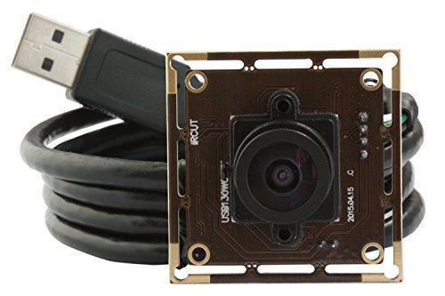 ELP 960P 1.3 Megapixel CMOS 1/3 AR0130 HD numérique à faible éclairage grand angle Module de caméra USB (2.1mm lentille)