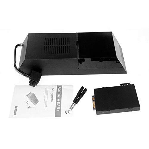 Preisvergleich Produktbild Huihuiya PS4-Festplattenbox Externes SATA-Festplattengehäuse Unterstützung für 3, 5-Zoll-HDD-Schwarz