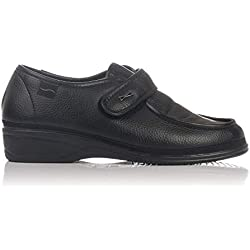 Doctor Cutillas 780 - Zapato Ortopédico Velcro Negro mujer, color negro, talla 38