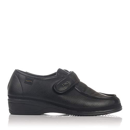 Doctor Cutillas 780 - Zapato Ortopédico Velcro Negro mujer, color negro, talla 39