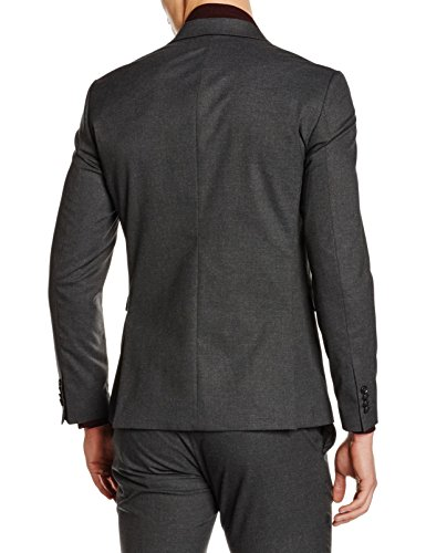 Jack & Jones Premium Jprroy Blazer Kiv23 Grey Noos, Veste de Costume Homme Gris (dark Grey Fit:slim Fit)