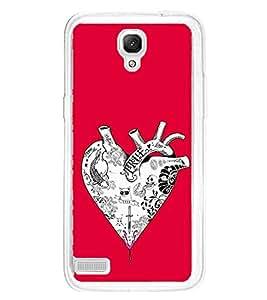 PrintVisa Heart Hearts Liver High Glossy Metal Designer Back Case Cover for Xiaomi Redmi Note :: Xiaomi Redmi Note 4G