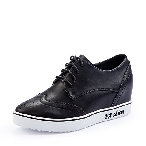 Retro-casual chaussures femme à l'automne/Ajout de chaussure féminine haute/filles strap chaussures A