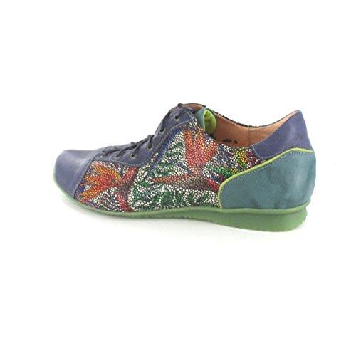 Think! Chilli 80110, Scarpe Stringate Donna Multicolore