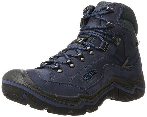 Keen Galleo Mid WP, Stivali da Escursionismo Alti Uomo Nero (Oceana/night Oceana/night)
