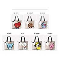 BTS Casual Messenger Bag Crossbody Bag Shoulder Bag Travel Bag Handbag Tote Bag Purse (A)