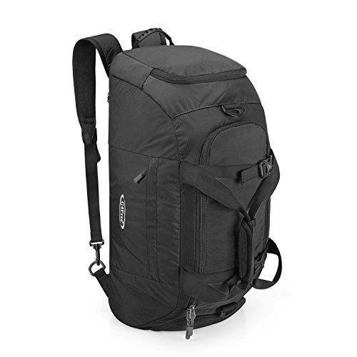 G4Free 3-Weg Travel Duffel Rucksack 40 L Gepäck Gym Sporttasche mit Schuhfach