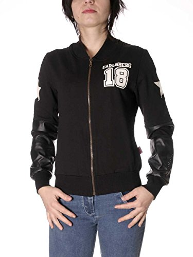 Carlsberg Damen Sweatshirt schwarz schwarz XL