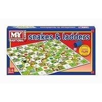 KandyToys Snakes & Ladders Game