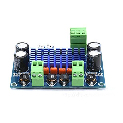 Camellia XH-M572 TPA3116D2 2x120W gewidmet Frame-Plug-in-24-V-5 V-28 V-Ausgang Hochleistungsverstärker HiFi Digitalkarte von A7-003 (blau) -