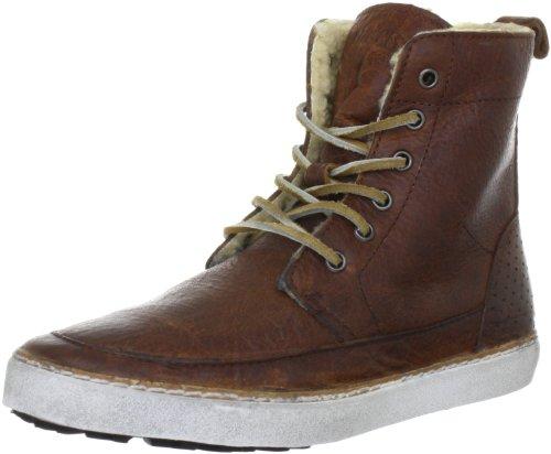 Blackstone BRAMPTON FUR CK01 Unisex-Kinder Sneaker Braun (old yellow)