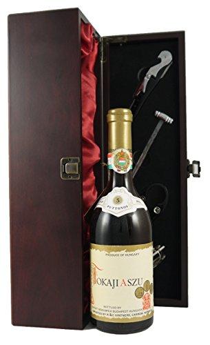 Tokaji Aszu 1973 (500ml) edler Wein in einer mit Seide ausgestatetten Geschenkbox. Da zu vier Wein...