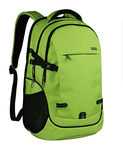 fanselatm-water-resistent-polyester-156-inch-laptop-backpacklight-green