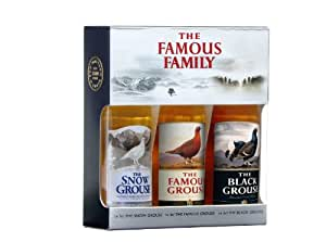 Famous Family mini set Snow Grouse, Black Grouse and Famous Grouse