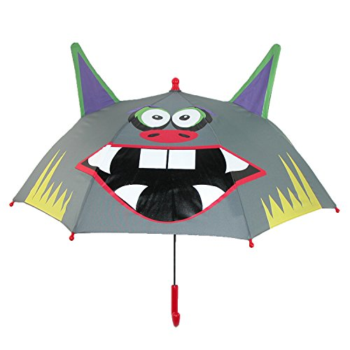 shedrain-kids-rain-essentials-monster-character-stick-umbrella-monster-mitch