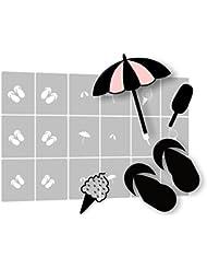Airbrush Nailart Schablone selbstklebend - Nailart Schablonen