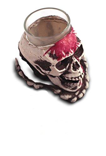 Totenkopf Shotglas Halloween - Wodka Halloween