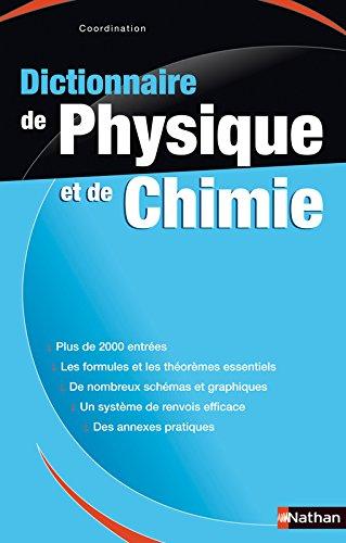 Dictionnaire de Physique-Chimie