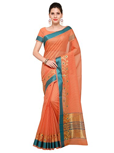 Mrinalika Fashion Art Silk Saree With Blouse Piece (_Pink_Free Size)