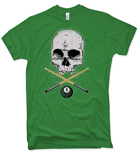 NG articlezz T-Shirt – Billard Skull Oldschool Gr. S-5XL