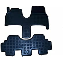 Rezaw - Plast 201220 Negro Alfombras de goma, Premium alfombrillas de goma , borde 3 centímetros