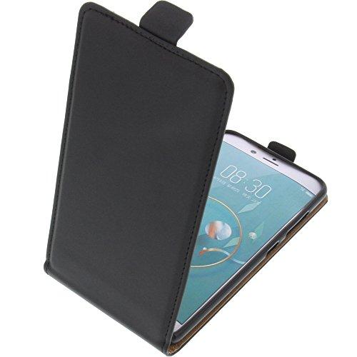 foto-kontor Tasche für ZTE Nubia Z17 Mini Smartphone Flipstyle Schutz Hülle schwarz