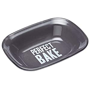 "KitchenCraft Paul Hollywood Oblong Enamel Pie Dish, 22 x 16 cm (8.5"" x 6"")"