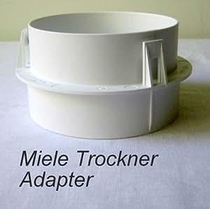 miele trockner abluft adapter t baumarkt. Black Bedroom Furniture Sets. Home Design Ideas