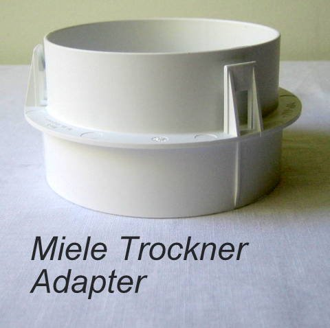 Miele Trockner Abluft Adapter T-Nr.6595070