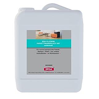 2,5 Liter IRSA 1K Wasserlack 1007 für Parkett, Holz, Bodendielen