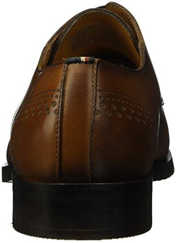 Tommy Hilfiger - D2285ierdrik 6a, Scarpe stringate Uomo Marrone (Braun (WINTER COGNAC 906))