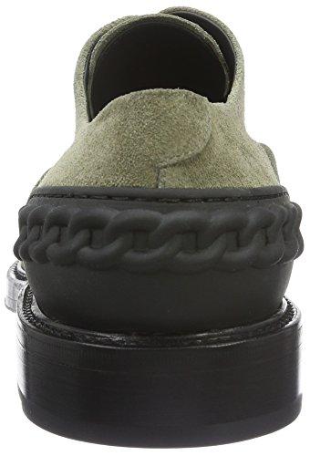 Casadei 6c043e020, Chaussures à Lacets Homme Vert - Grün (GIUNGLA 505)