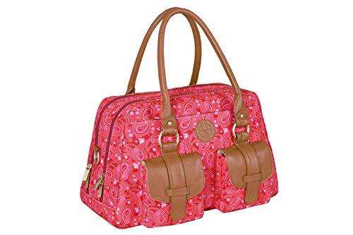 Lässig Metro Bag Paisley - Bolsa para carrito de bebé Paisley pink