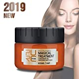 LIUMY Haarmaske Hair Treatment Hair Mask Conditioner Haarkur Arganöl Jojobaöl Haarkuren für geschädigtes und trockenes Haare für gefärbtes und blondiertes Repair Mask 60 ml
