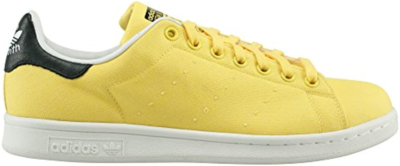 adidas Stan White-Black-Yellow Smith - S75112 - Color White-Black-Yellow Stan - Size: 8.5 2b2e49