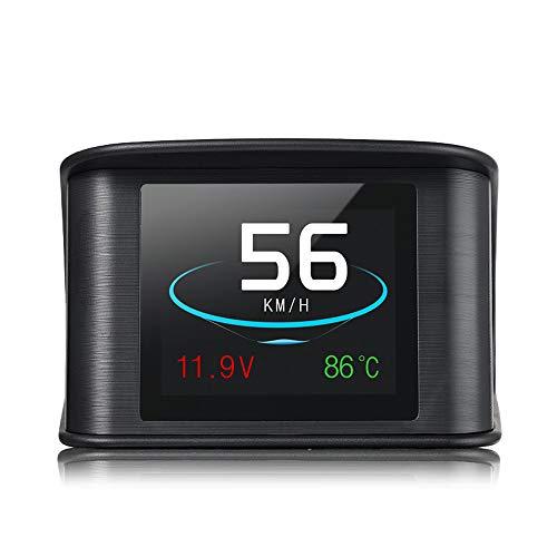 Auto HUD Head Up Display LCD OBD 2 Scanner Diagnosewerkzeug In Intelligenter Digitaler Tacho Geschwindigkeit/Kraftstoffverbrauch/Löschen Sie Den Fehlercode