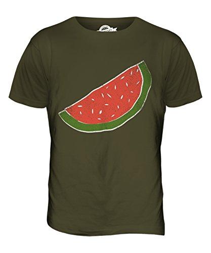 CandyMix Melonenscheibe Herren T Shirt Khaki Grün