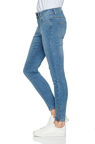 VERO MODA Damen Jeanshose Blau (Medium Blue Denim)